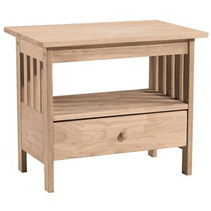 John Thomas SELECT Home Accents Mission TV Stand