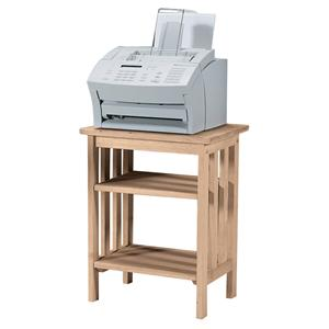 John Thomas SELECT Home Office Mission Printer Stand