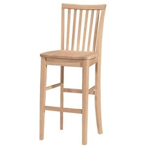 "John Thomas SELECT Dining 30"" Mission Stool"
