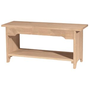 "John Thomas SELECT Dining 36"" Brookstone Bench"