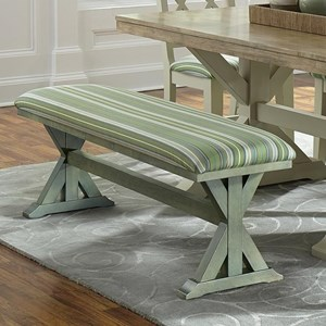 Canyon Customizable Trestle Dining Bench