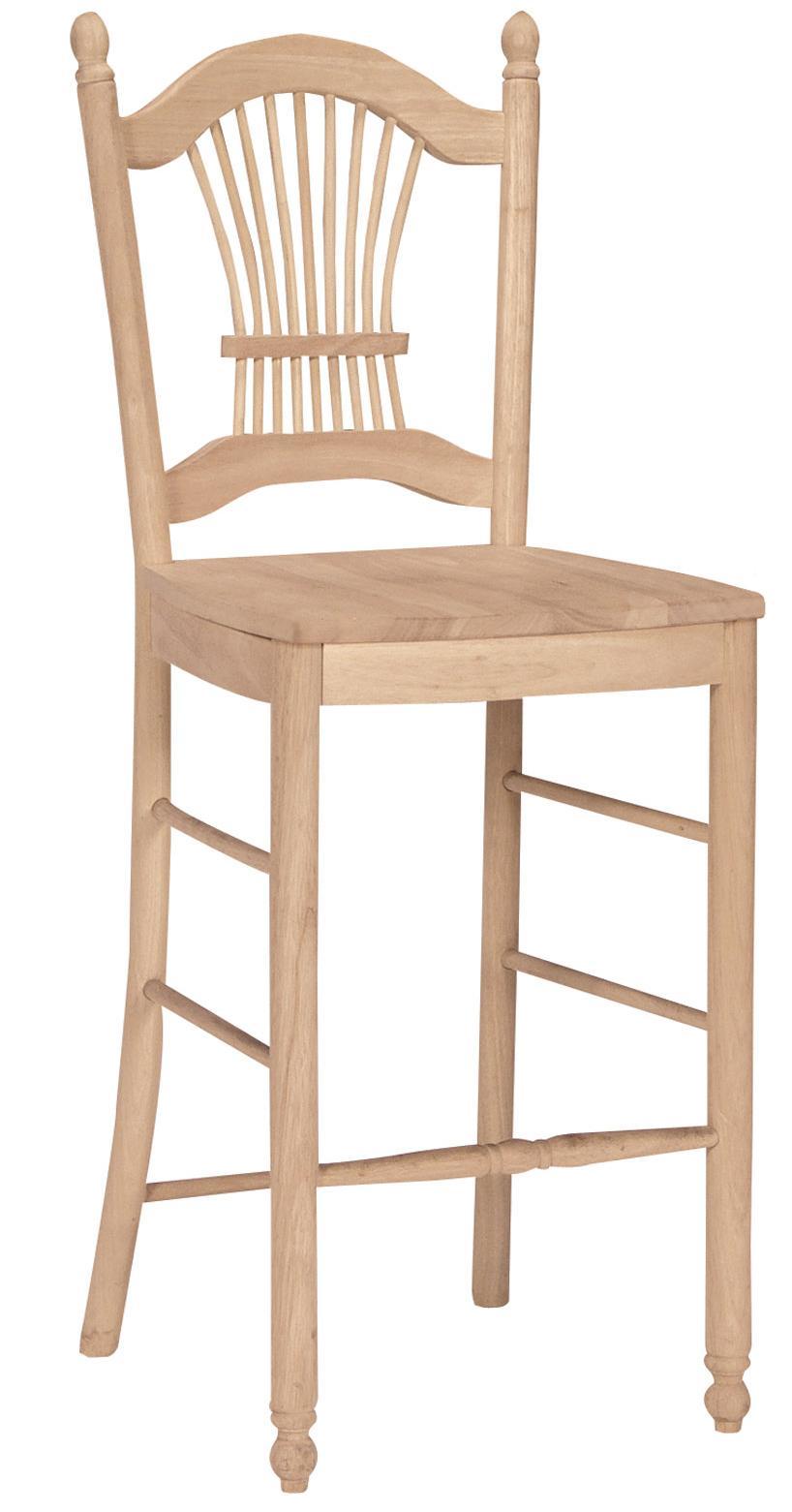 """SELECT Dining 30"""" Sheafback Stool by John Thomas at Furniture Barn"""
