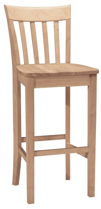 "SELECT Dining 30"" Slatback Stool by John Thomas at Furniture Barn"