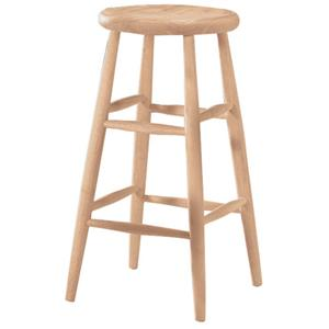 "John Thomas SELECT Dining 30"" Scoop Seat Stool"