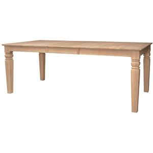 John Thomas SELECT Dining Java Butterfly Leaf Table