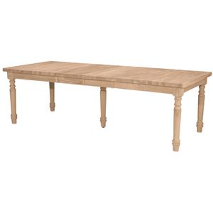 John Thomas SELECT Dining Farmhouse Extension Table