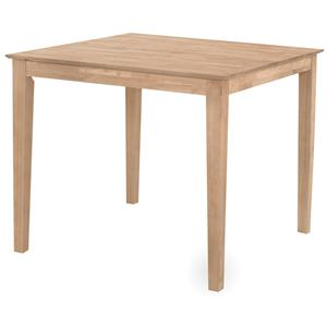 John Thomas SELECT Dining Solid Top Gathering Height Table
