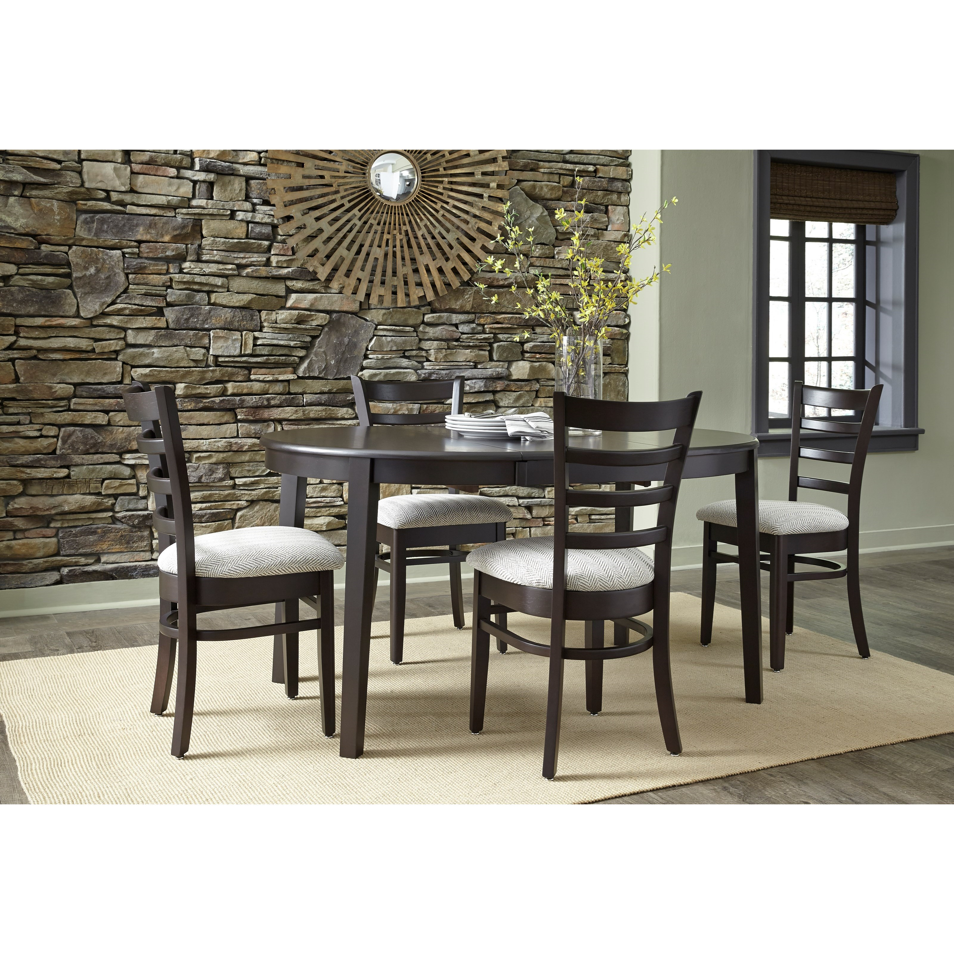SELECT Dining 5-Piece Table and Chair Set by John Thomas at Baer's Furniture