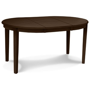 """Emily 42"""" Round Table with Butterfly Leaf"""