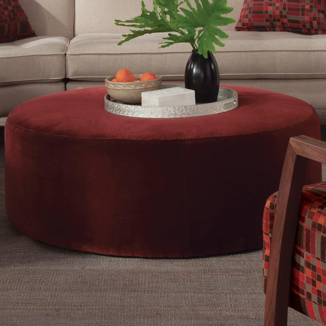 Tarzan Contemporary Ottoman by Jonathan Louis at Michael Alan Furniture & Design