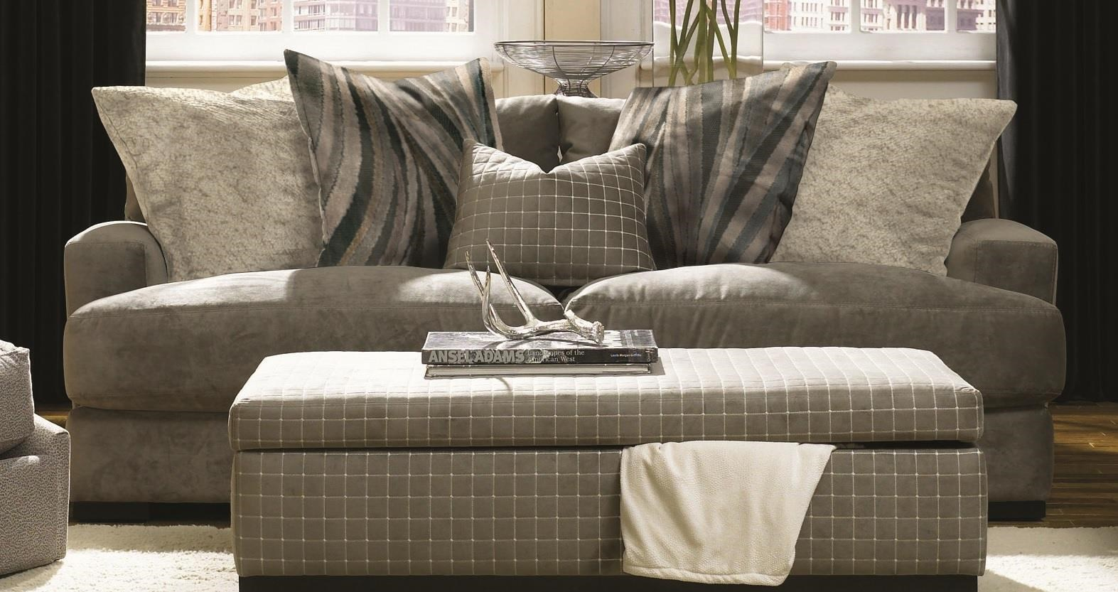 Aldo Aldo Sofa with Accent Pillows by Jonathan Louis at Morris Home