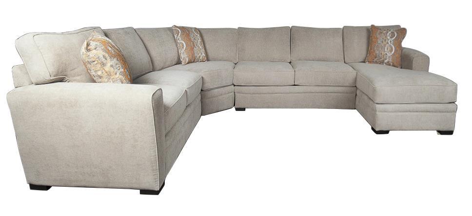 Lexie Lexie Sectional Sofa by Jonathan Louis at Morris Home