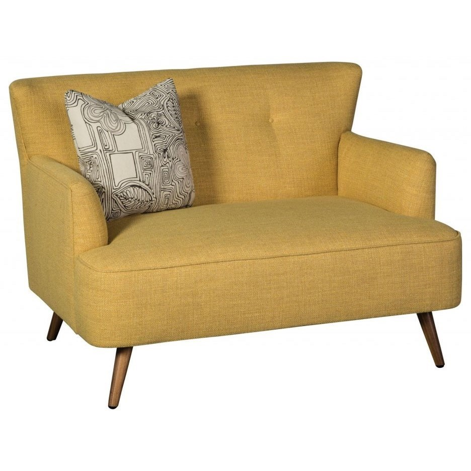 Accentuates Nikki Settee by Jonathan Louis at Miller Waldrop Furniture and Decor