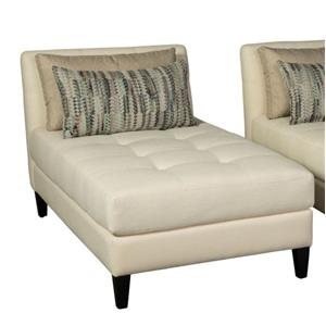 Brooklyn Chaise with Tufted Seat