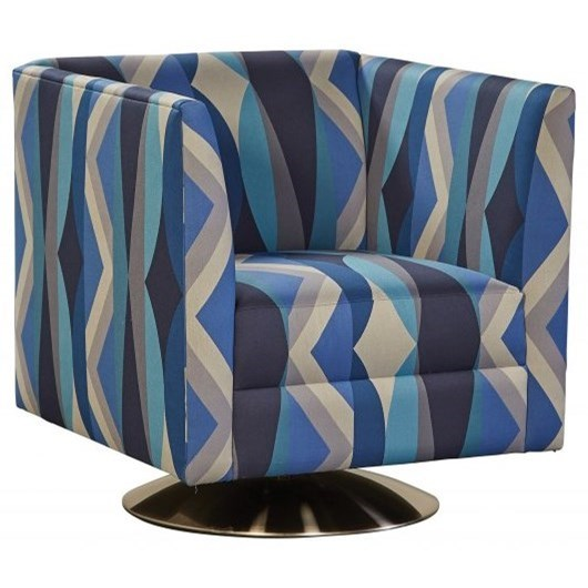 Ada Swivel Chair by Jonathan Louis at Fashion Furniture