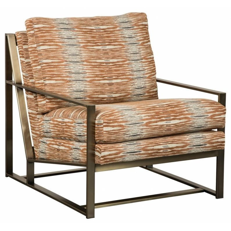 Addison Metal Accent Chair by Jonathan Louis at Fashion Furniture