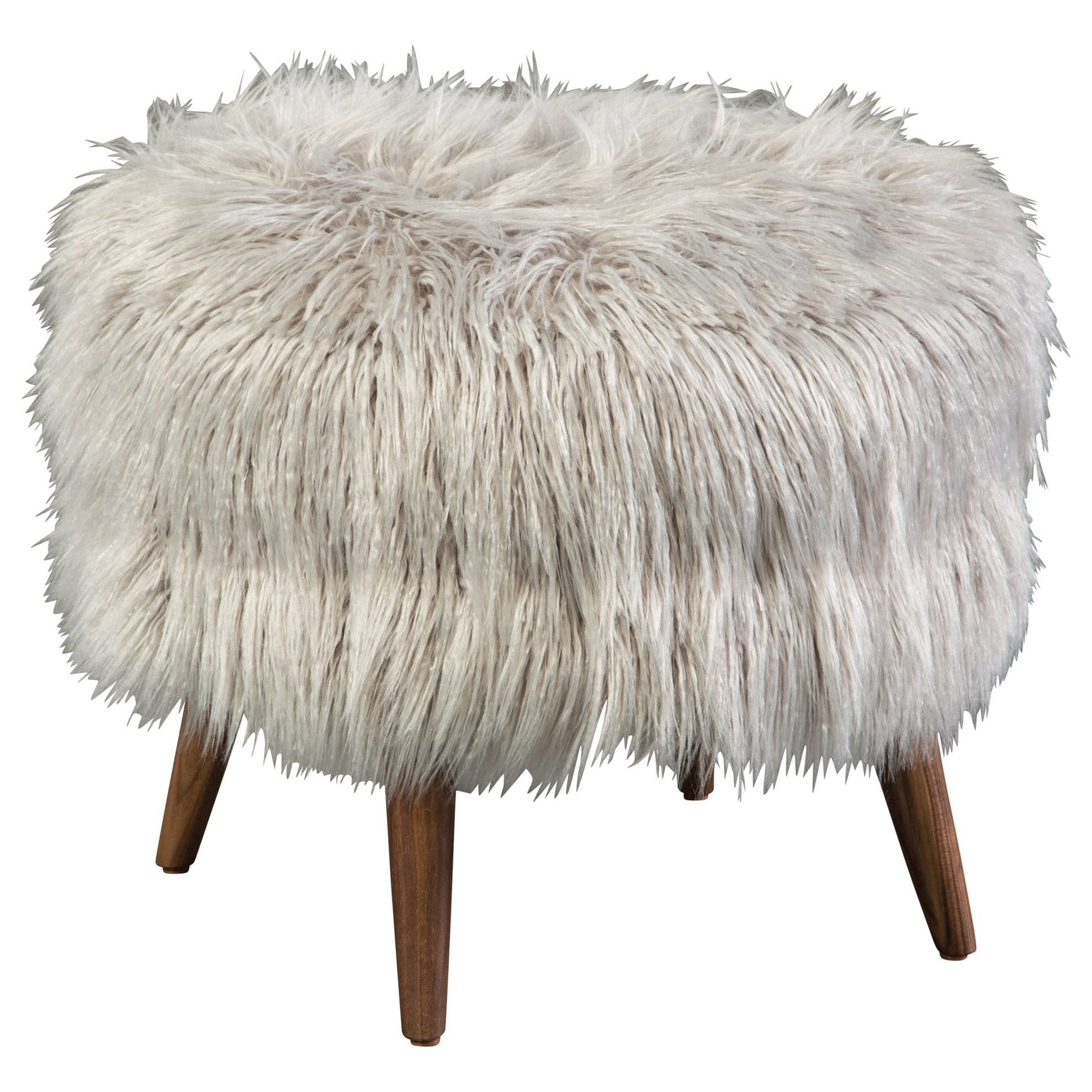 Bibi Round Accent Footstool by Jonathan Louis at Stoney Creek Furniture
