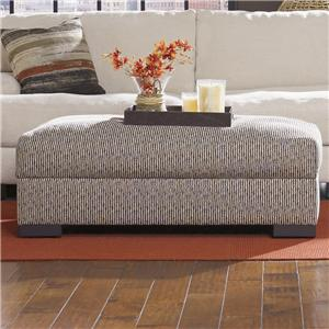 Lombardy Contemporary Storage Cocktail Ottoman