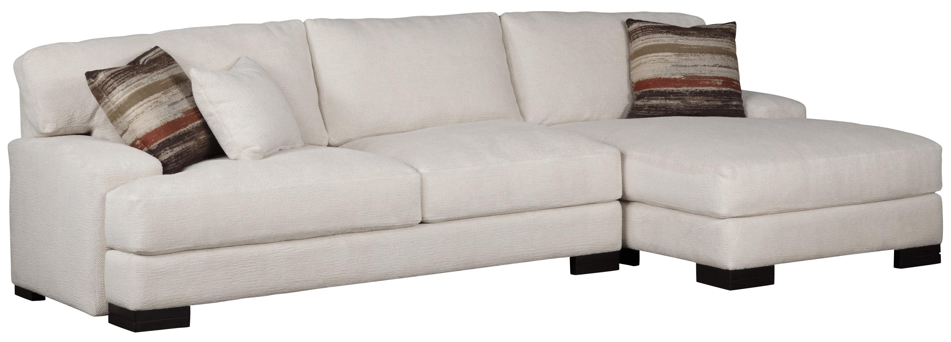 Burton  Sectional with Chaise by Jonathan Louis at Fashion Furniture