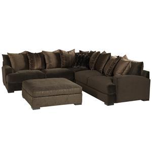 Jonathan Louis Carlin Stationary Sofa Sectional