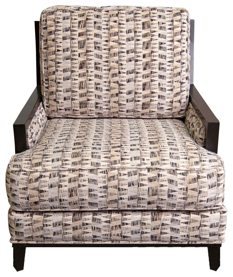 Cayla Cayla Accent Chair by Jonathan Louis at Morris Home