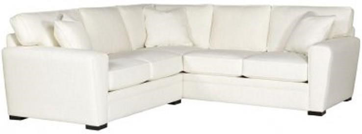 Choices - Artemis 2-Piece Sectional with Pluma Plush Cushions by Jonathan Louis at Fashion Furniture