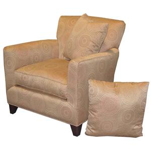 Smooth Line Accent Chair