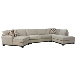 4-Pc Chaise Sectiona