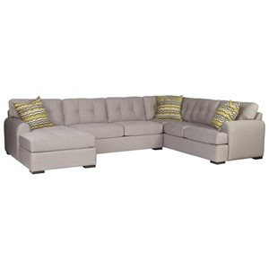 5-Seat Sectional Sofa w/ LAF Chaise
