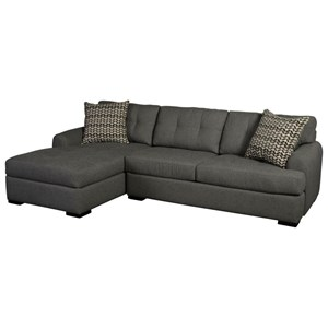 3-Seat Chaise Sectional with LAF Chaise