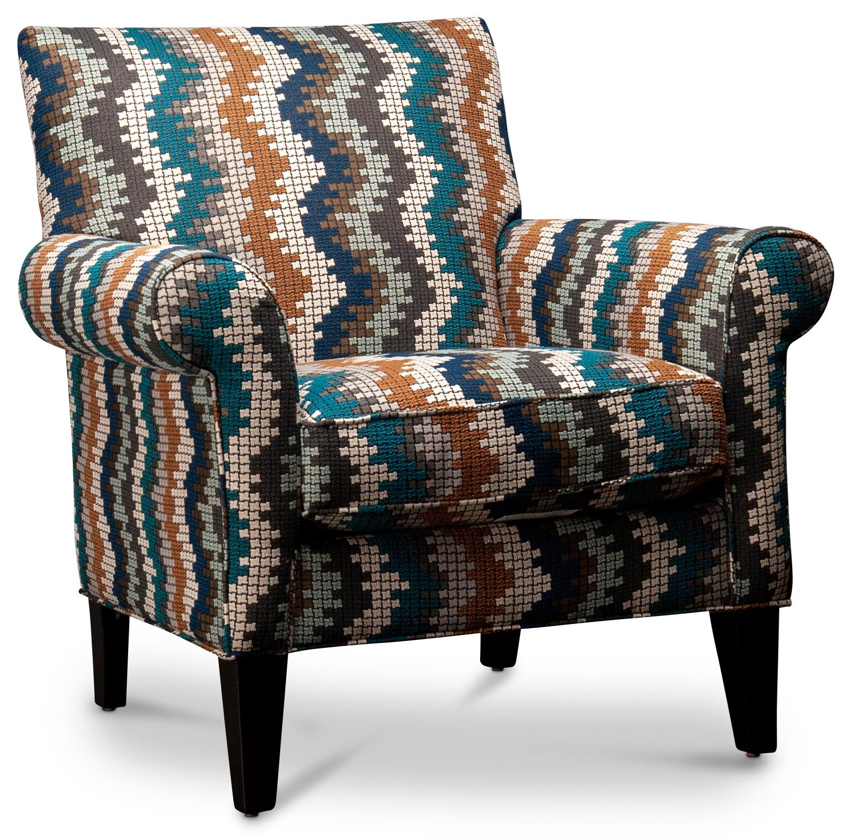 Gael Gael Accent Chair by Jonathan Louis at Morris Home