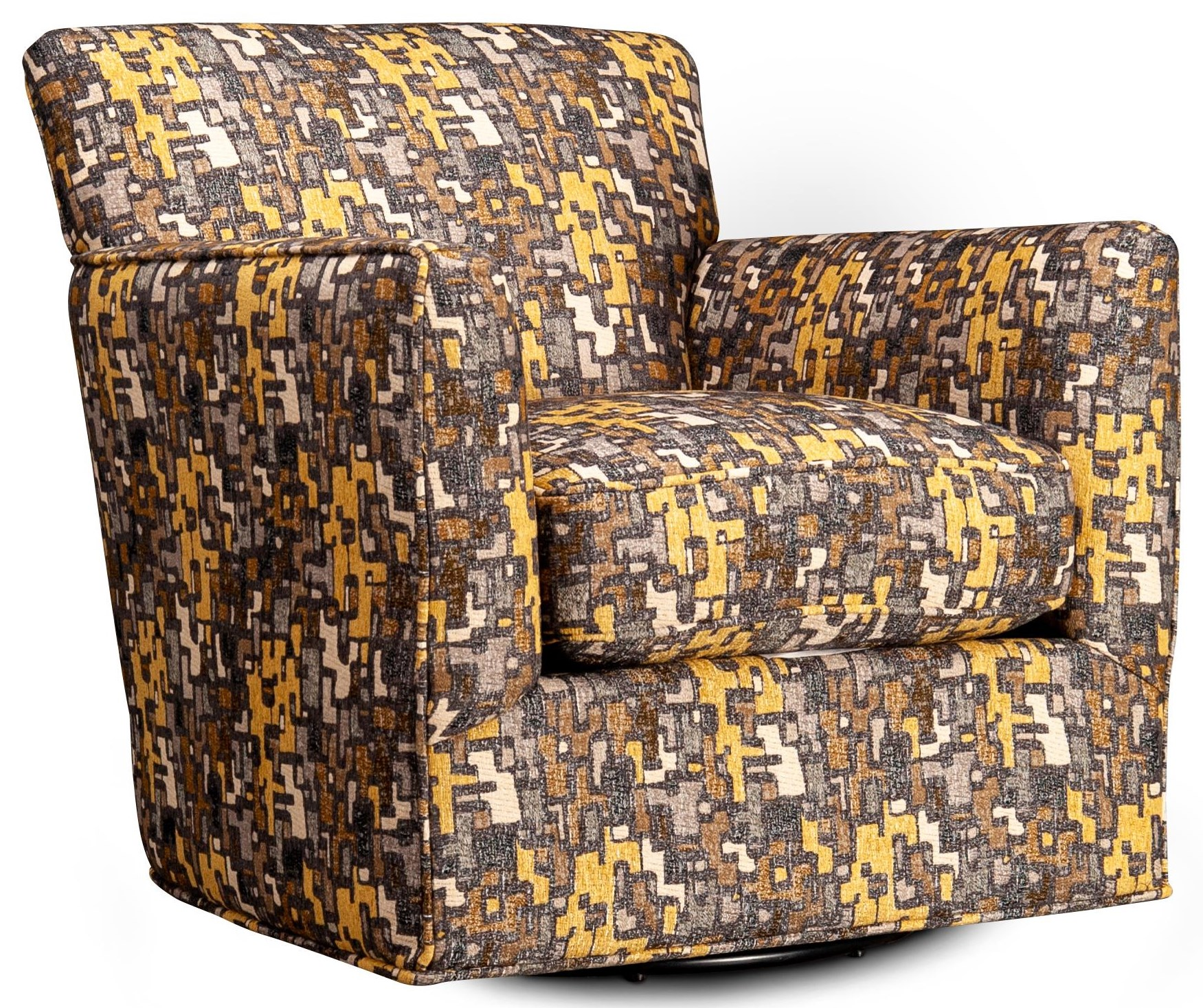 Griffin Griffin Swivel Chair by Jonathan Louis at Morris Home