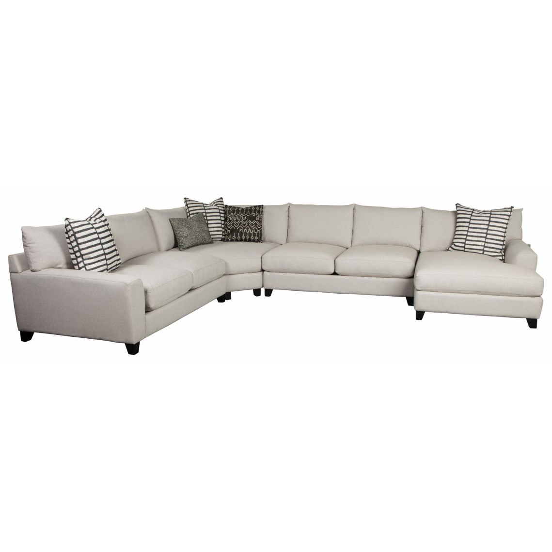 Harris Sectional  by Jonathan Louis at HomeWorld Furniture