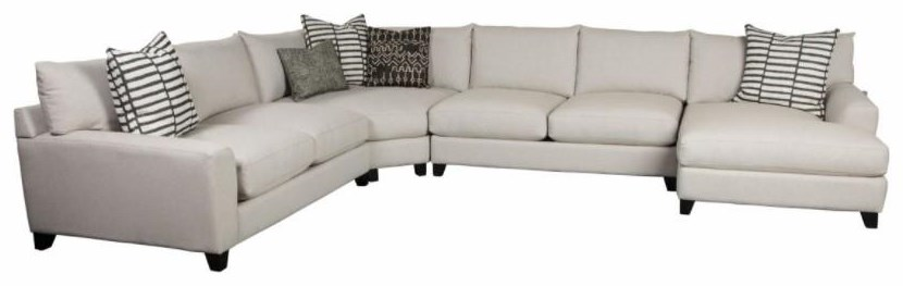 Harlow Harlow Sectional Sofa by Jonathan Louis at Morris Home