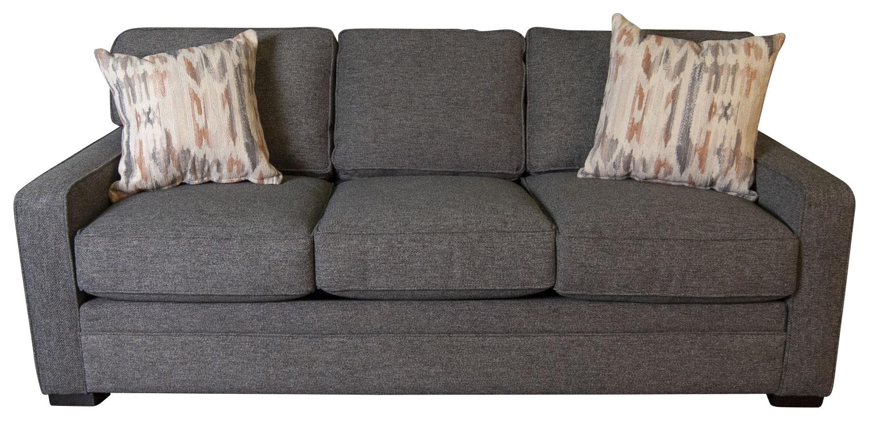 Eddie Eddie Sofa with Accent Pillows by Jonathan Louis at Morris Home