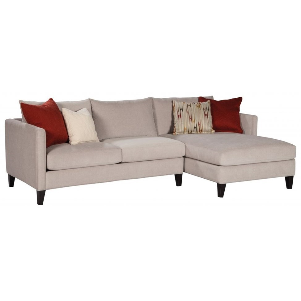 Kate Right-Facing Sofa Chaise  by Jonathan Louis at Fashion Furniture