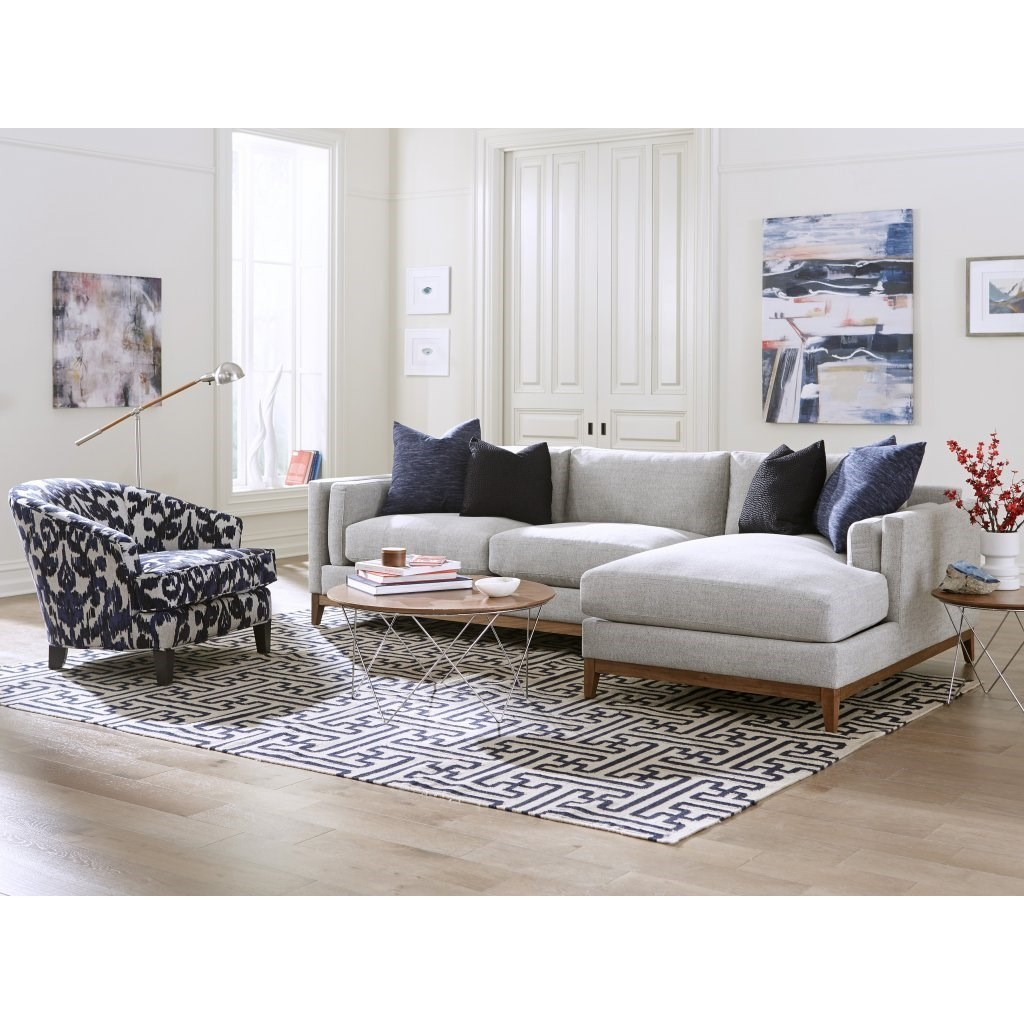 Kelsey Sofa with Chaise by Jonathan Louis at Stoney Creek Furniture