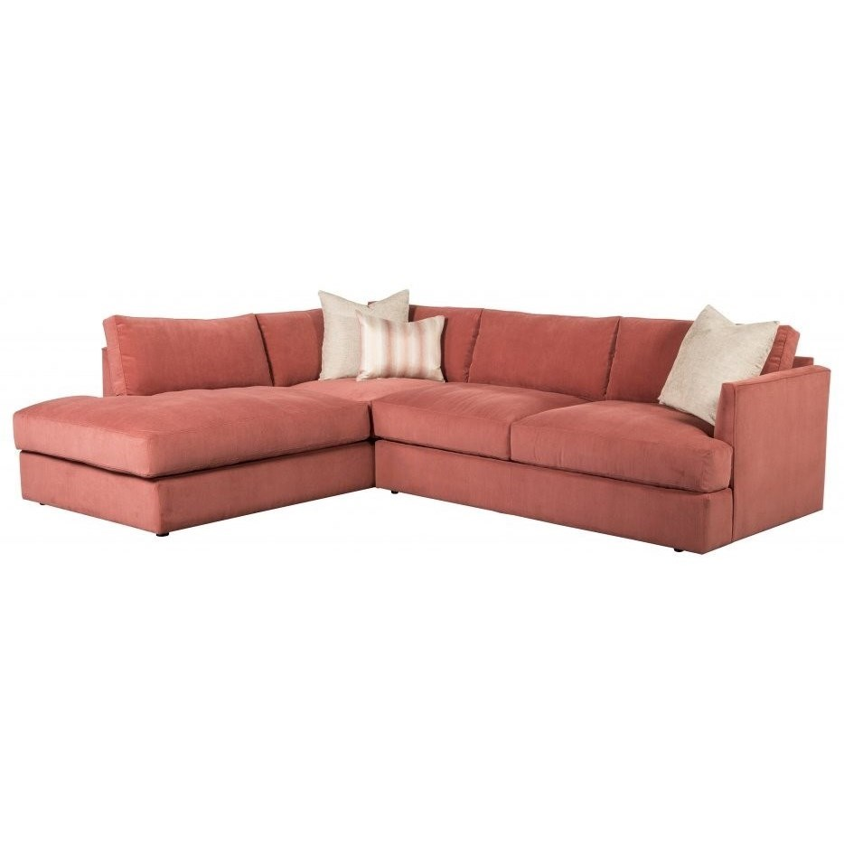Leon Sectional with Left-Facing Chaise at Williams & Kay