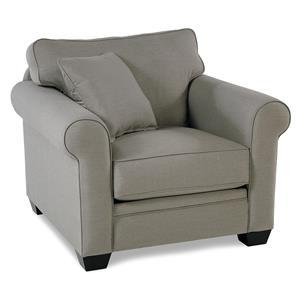 Roll Arm Chair w/ Sunbrella Fabric