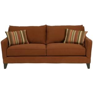 Contemporary Sofa with Sloping Track Arms