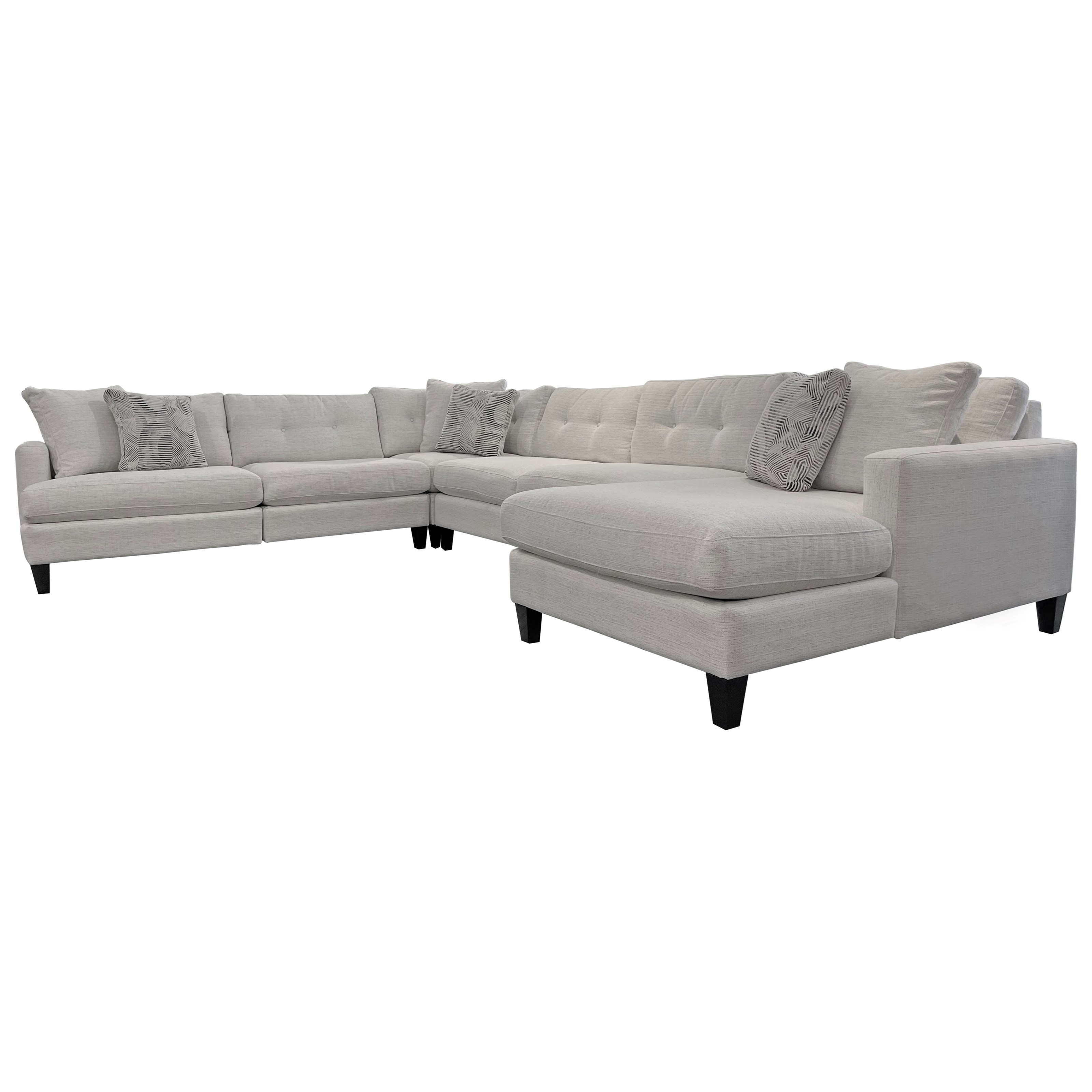 Mia Modular 5 Piece Sectional by Jonathan Louis at C. S. Wo & Sons Hawaii