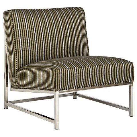 Moore Fabric Metal Accent Chair by Jonathan Louis at Fashion Furniture