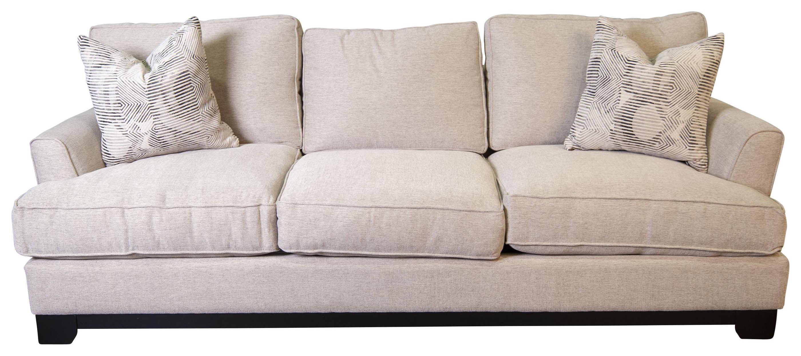 Paisley  Paisley Estate Sofa with Accent Pillows by Jonathan Louis at Morris Home