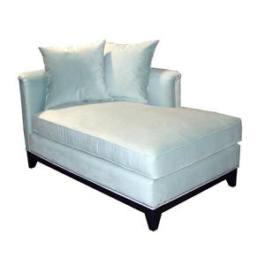 Contemporary RAF Upholstered Chaise