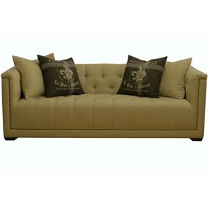 Traditional Estate Sofa with Nail Head Trim