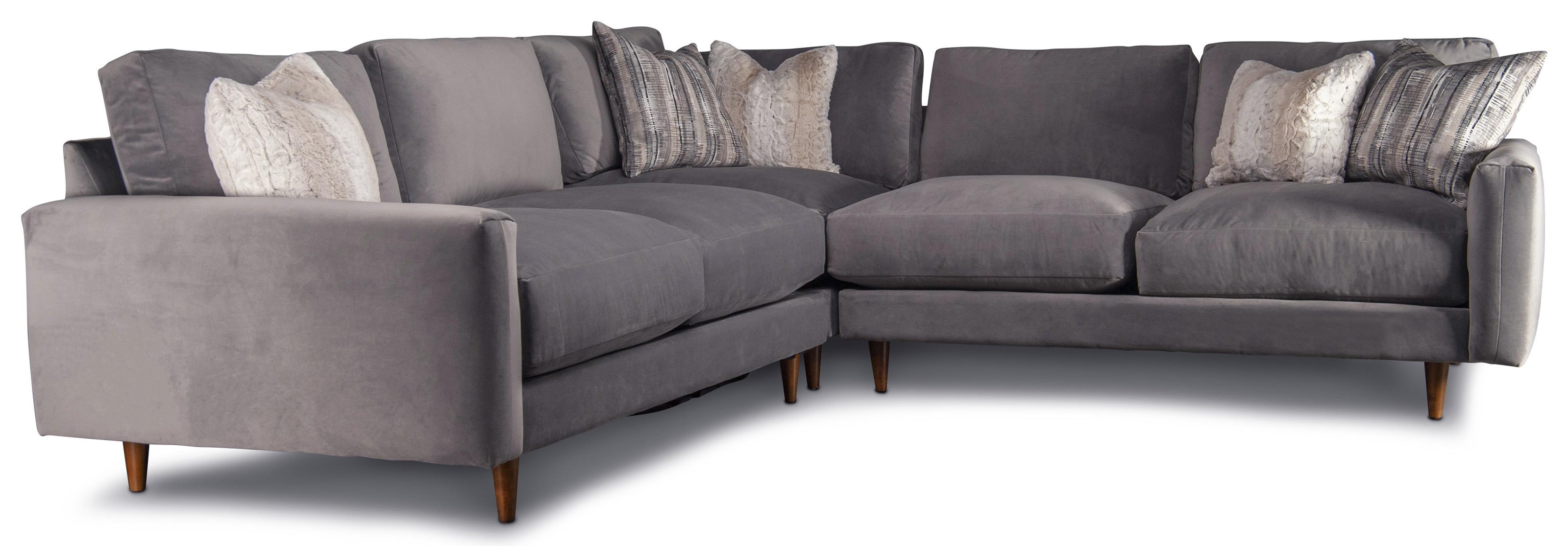 Rosalie Rosalie Sectional Sofa by Jonathan Louis at Morris Home