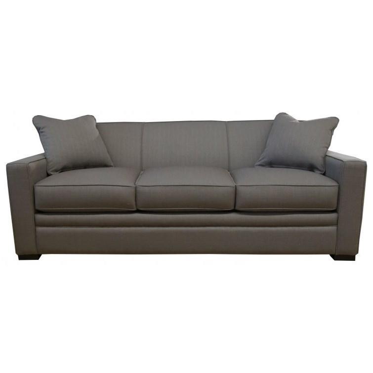 Sleepy Queen Memory Foam Sleeper Sofa by Jonathan Louis at Fashion Furniture