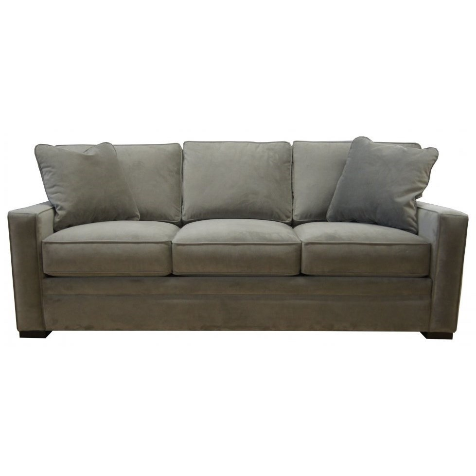 Snoozy Queen Sofa Sleeper with Inflatable Mattress by Jonathan Louis at Fashion Furniture