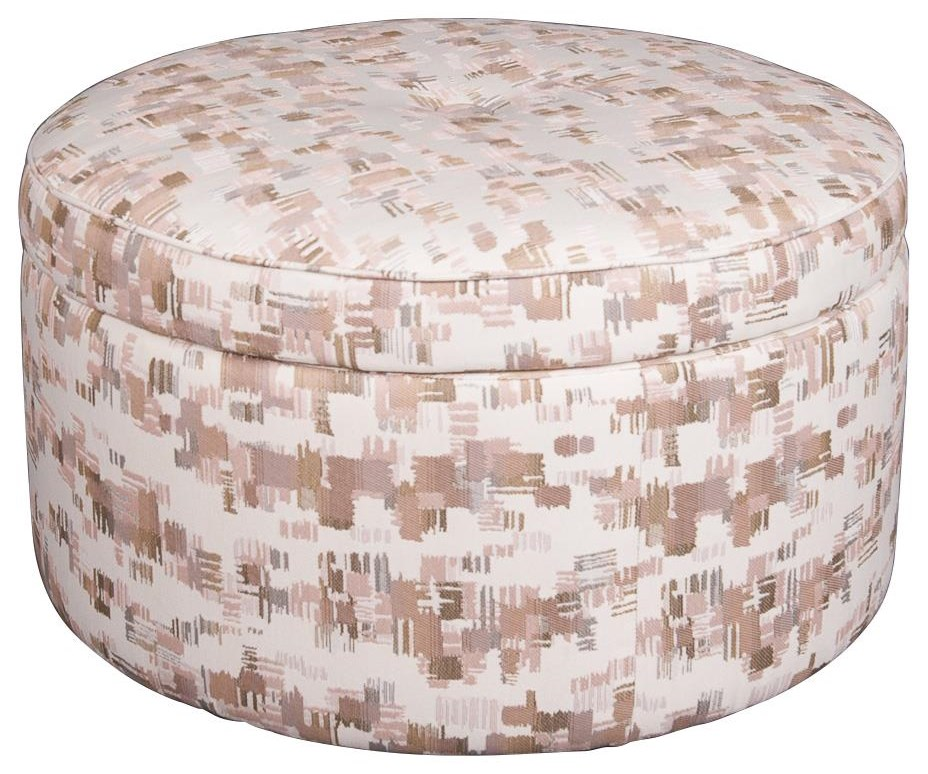 Castered Ottoman