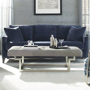 Traditional Sofa with Nailhead Trim